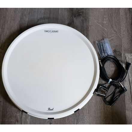 Used Pearl Tru Trac Pad w/No Drill Adapter and Cable 16