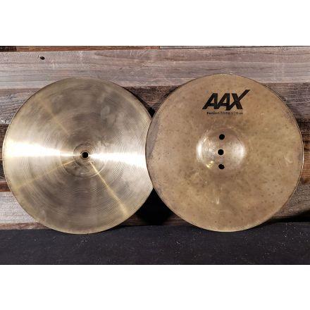Used Sabian AAX Fusion Hi Hat Cymbals 13