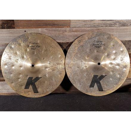 Used Zildjian K Custom Special Dry Hi Hat Cymbals 14