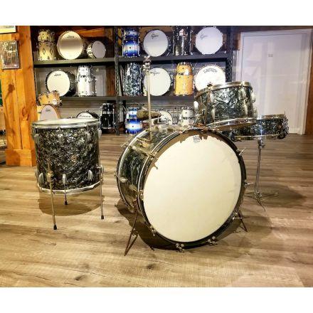 Vintage Slingerland Radio King Drum Set with WFL Floor Tom