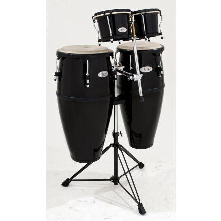Toca Percussion Synergy Series Fiberglass Conga Drums w/ Free Bongos!