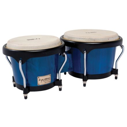 Tycoon Percussion 7 & 8 1/2 Artist Series Bongos - Red Finish