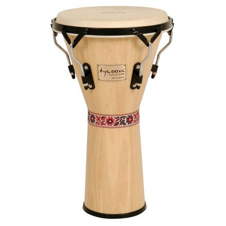 Tycoon Percussion 12 Supremo Series Djembe - Natural Finish