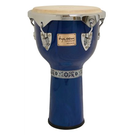 Tycoon Percussion 12 Concerto Series Djembe - Blue Finish