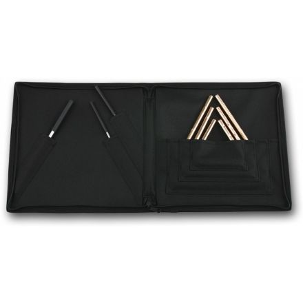 Sabian Triangle/Striker Set W/attached Case