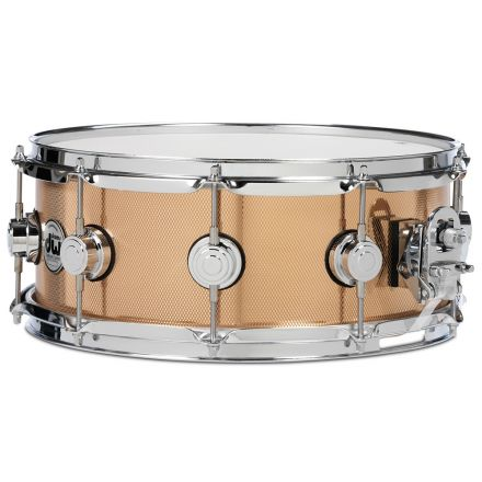 DW Collectors Knurled Bronze Snare Drum 14x5.5 Chrome Hardware