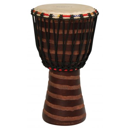 Tycoon Percussion Hand Carved 10 African Djembe - T2 Finish