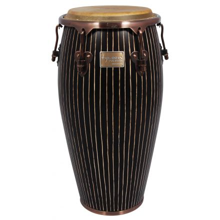 Tycoon 11 3/4 Master Hand-Crafted Pinstripe Series Conga With Stand