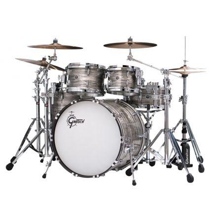 Gretsch Brooklyn 5pc Euro Drum Set Grey Oyster