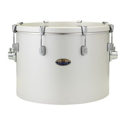 """Pearl Decade Maple 20""""x14"""" Gong Bass Drum - White Satin Pearl"""