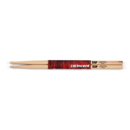 Wincent 55F Precision Hickory Drum Sticks - Acorn Tip