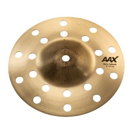 """Sabian AAX Aero Splash Cymbal 8"""" Brilliant"""