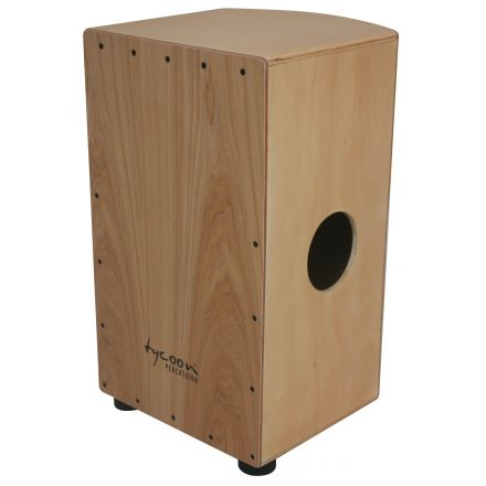 Tycoon Percussion 29 Roundback Series Cajon With North American Ash Front Plate