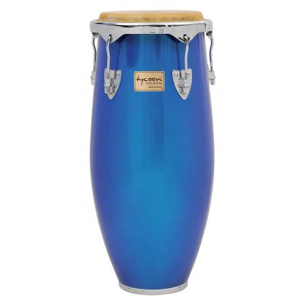 Tycoon Percussion 11 Concerto Series Blue Spectrum Quinto With Single Stand