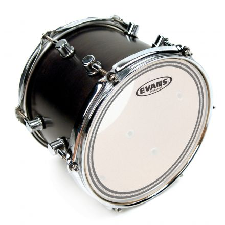 Evans EC2 Frosted Drum Head, 15 Inch