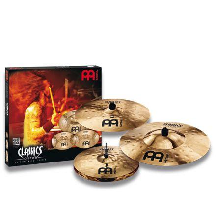 Meinl Classics Custom Extreme Metal Cymbal Set, 14H/18C/20R