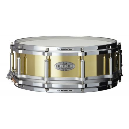 Pearl 14x5 Brass Free Floating Snare Drum