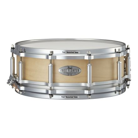 Pearl 14x5 Maple Free Floating Snare Drum - Natural Maple