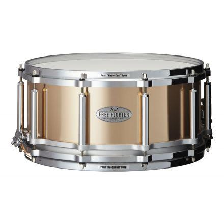 Pearl 14x6.5 Phosphor Bronze Free Floating Snare Drum