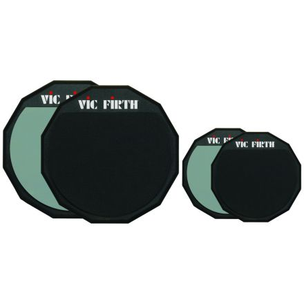 Vic Firth Double-Sided Practice Pad, 12