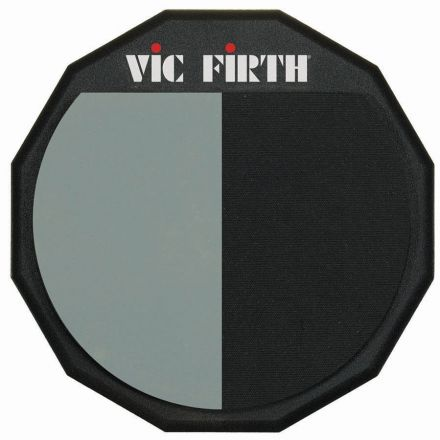 Vic Firth Single-Sided/Divided Practice Pad, 12