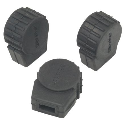 Gibraltar Small Round Rubber Feet 3 Pack