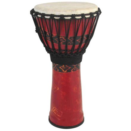 Toca Freestyle Rope Tuned 12'' Djembe Bali Red