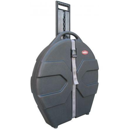"""SKB ATA 24"""" Cymbal Vault w/ Handle & Wheels"""