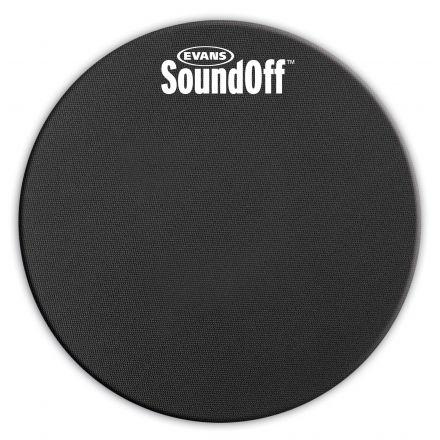 "Evans SoundOff Drum Mute 12"""