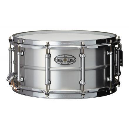 Pearl 14x6.5 Beaded Seamless Aluminum Sensitone Snare Drum