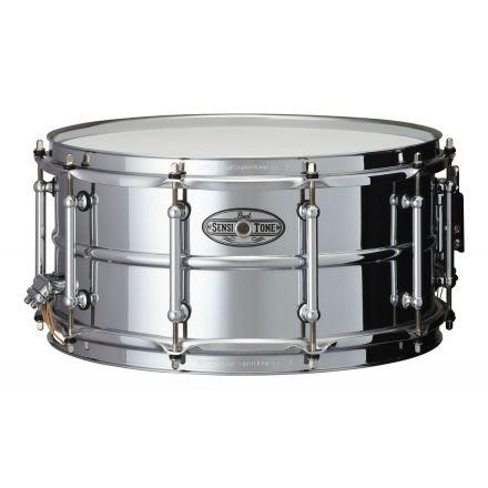 Pearl 14x6.5 Beaded Steel Sensitone Snare Drum