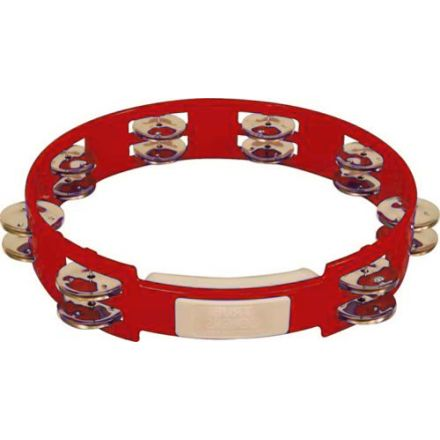Rhythm Tech 10 True Colors Tambourine Red