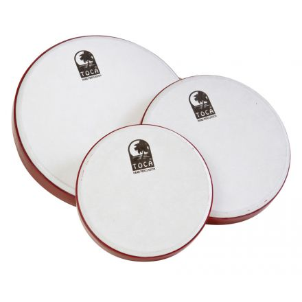 Toca Freestyle Frame Drums, Set of 3 with Bag