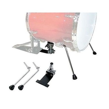 """Pearl Jungle Gig Floor Tom to Bass Drum Adaptor for 16"""""""