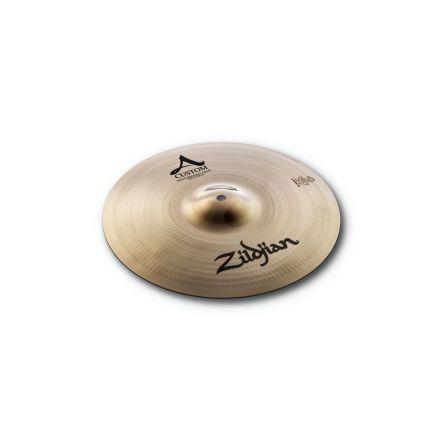 "Zildjian A Custom Mastersound Hi Hat Cymbal Top 14"""