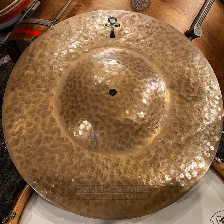 "A&F/Sabian ANKH Thin Brass Hi Hat Top Cymbal 16"""
