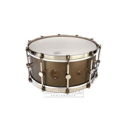 A&F Maple Club Snare Drum 14x6.5 Deco Gold w/NOB Hw