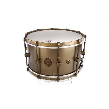 A&F Maple Club Snare Drum 14x8 Deco Gold