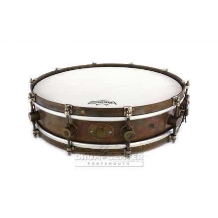 A&F Raw Brass Snare Drum 15x3.5 10-Lug
