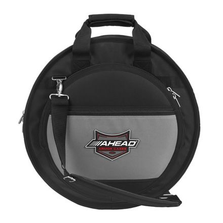 Ahead Deluxe Heavy Duty Cymbal Case 20 W/handles And Shoulder Strap
