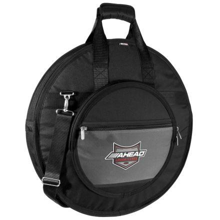 Ahead Armor Cymbal Bag Case 24 Deluxe Heavy Duty w/ Handles & Shoulder Strap - AA6024