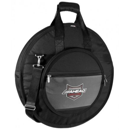 Ahead 26 Deluxe Heavy Duty Cymbal Case w/Handles And Shoulder Strap