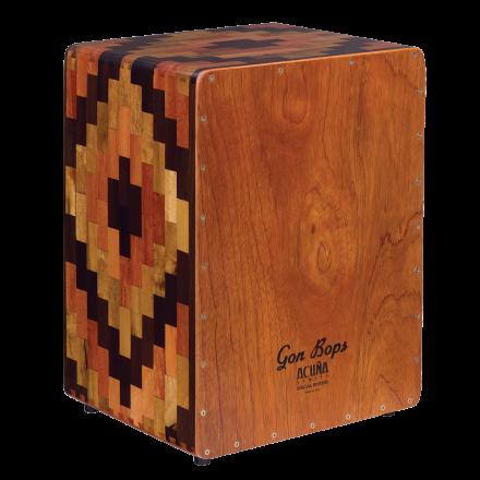 Gon Bops Cajons : Alex Acuna Special Edition Cajon with Gig bag