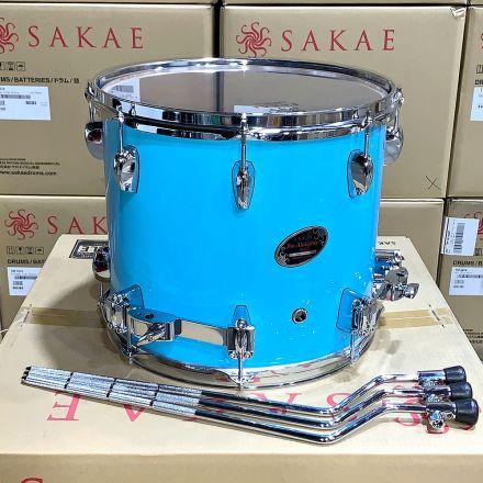 Sakae Almighty Birch 14x12 Floor Tom Sonic Blue - Clearance Deal!