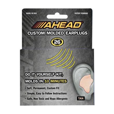 Ahead Custom Molded Earplugs Tan - ACME