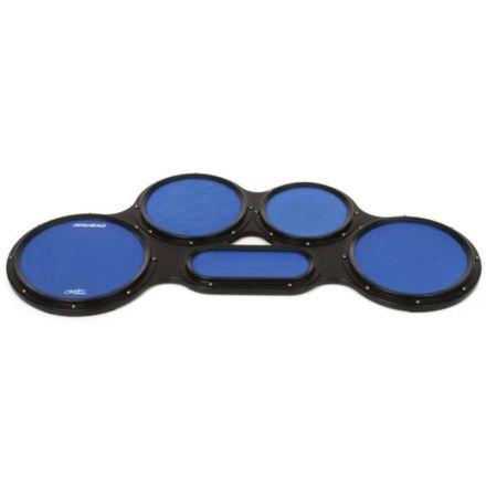 Ahead S-hoop Chavez Tenor Practice Pad Set - 4/5/6 Combination - Blue