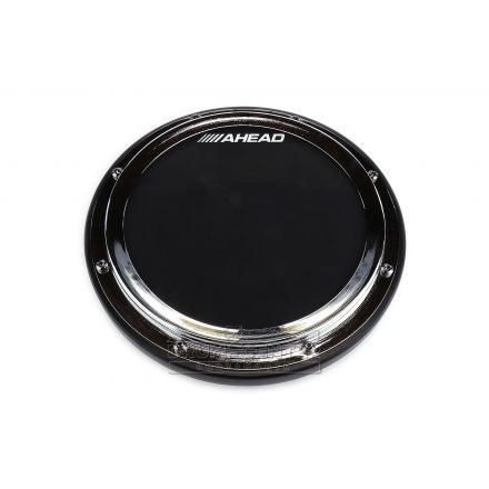Ahead 10 S-hoop Pad With Snare Sound Black Rubber/chrome Hoop