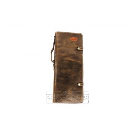 Ahead Brown Handmade Leather Stick Case