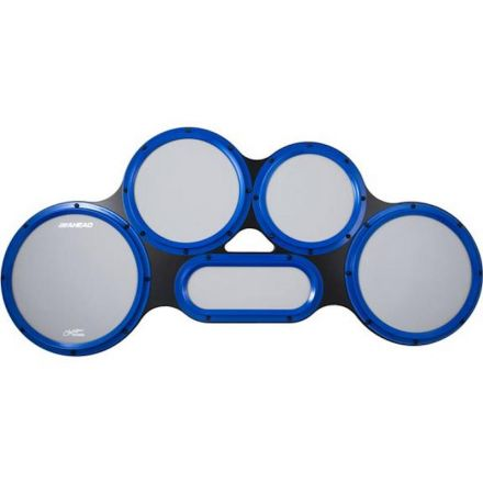 Ahead AHCTPG Chavez Tenor Practice Pads with Gray Heads & Blue S-Hoops