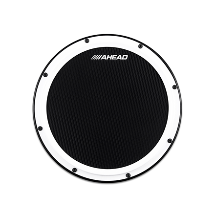 Ahead S-Hoop Marching Practice Pad with Snare Sound 14 Inch